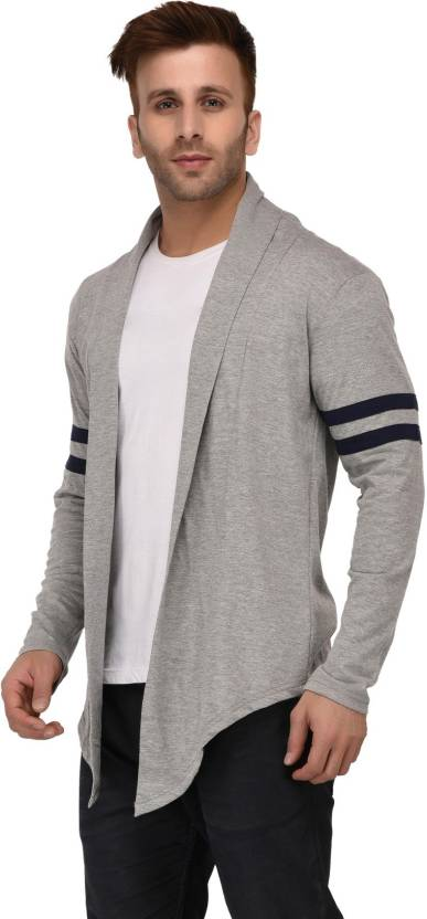 GRAND STITCH Men's Shrug - Grey